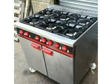 Bartlett yeoman gas cooker 6 burner Reconditioned