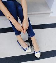 Shop ladies ballerina shoes online at Bonessi Ballerinas